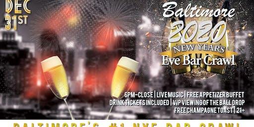 Baltimore NYE Bar Crawl