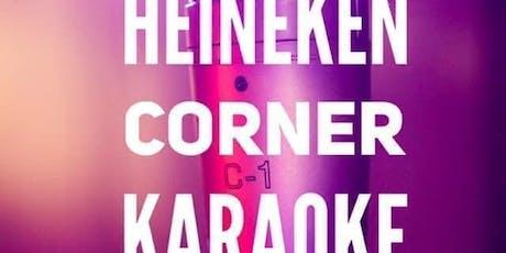 Karaoke @ Heineken Corner tickets