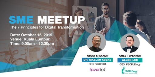 SME Meetup: The 7 Principles for Digital Transformation