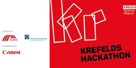 Kreathon – Der Hackathon in Krefeld Tickets