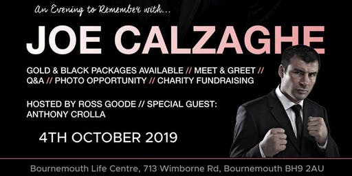 An Evening to Remember with Joe Calzaghe