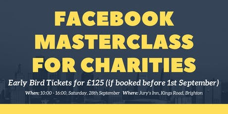 Facebook Masterclass for Charities tickets