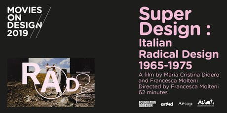 MOD 2019 presents 'SuperDesign: Italian Radical Design 1965-1975' tickets