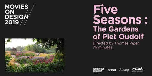 MOD 2019 presents 'Five Seasons: The Gardens of Piet Oudolf'