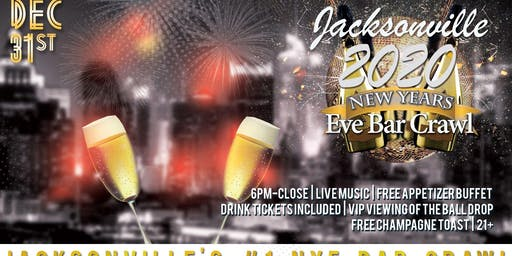 Jacksonville NYE Bar Crawl