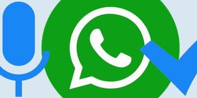Workshop WhatsApp 18 september 2019