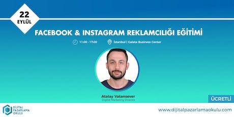 Facebook-Instagram Reklamcılığı Eğitimi [ÜCRETLİ] tickets