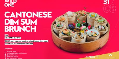 W1LD ONE - Cantonese Dim Sum Brunch at YEN tickets