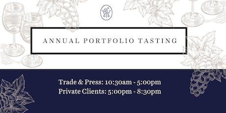 Friarwood Fine Wines Annual Portfolio Tasting tickets