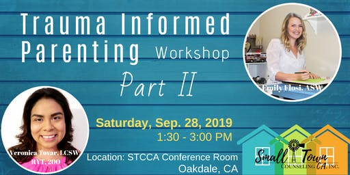 Trauma Informed Parenting Workshop Part II