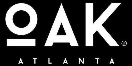 RSVP Thursdays starts this Thursdays at OAK ATLANTA tickets