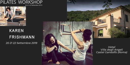 Pilates Workshop con Karen Frishmann