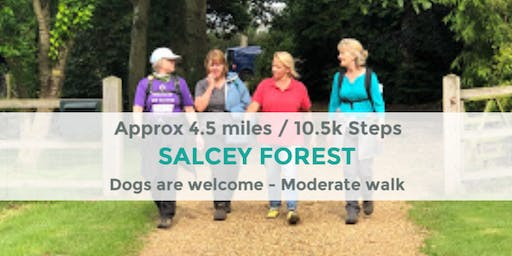 SALCEY FOREST | APPROX 4.5 MILES | MODERATE | NORTHANTS