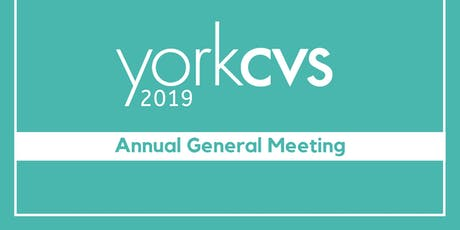 York CVS: Annual General Meeting tickets