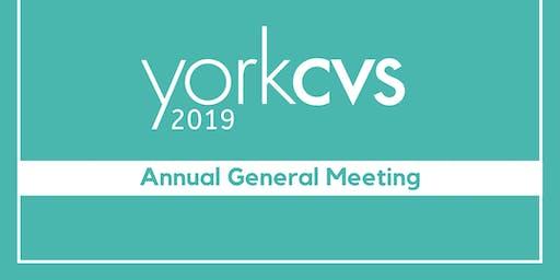 York CVS: Annual General Meeting