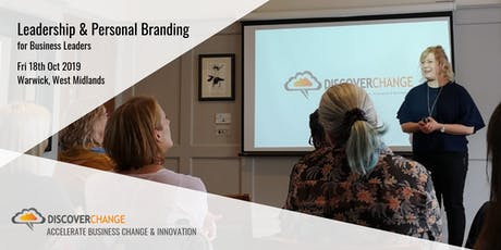 Leadership & Personal Branding for Business Leaders tickets