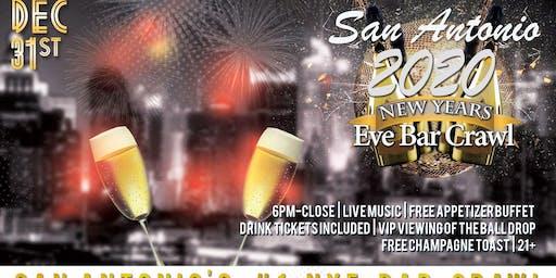 San Antonio NYE Bar Crawl