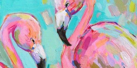Flamingo Tango - Art Class tickets