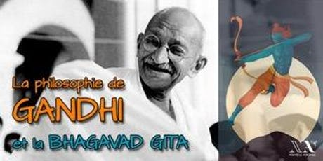 La philosophie de Gandhi : La Bhagavad Gita billets