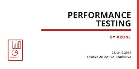 Performance Testing tickets