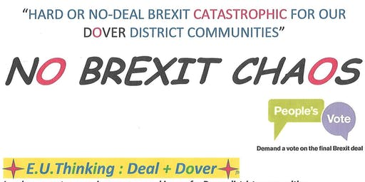 Talk: How No-Deal Brexit will hit East Kent