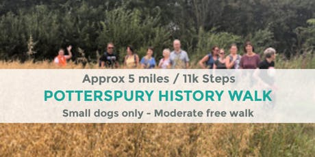 POTTERSPURY HISTORY WALK | APPROX 5 MILES | MODERATE tickets