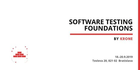 Software Testing Foundation tickets