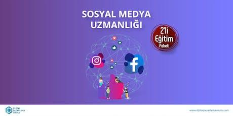 Sosyal Medya Uzmanlığı 2'li Eğitim Paketi [ÜCRETLİ] tickets