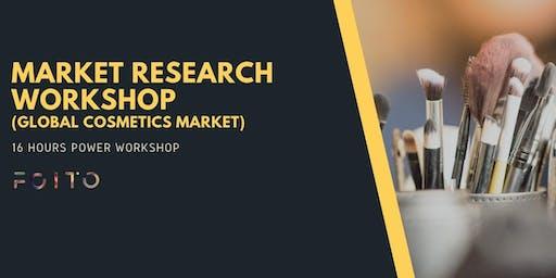 Market Research workshop for Global Cosmetics Market