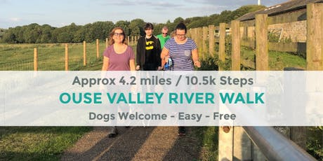 OUSE VALLEY RIVER WALK | 4.2 MILES | MODERATE | NORTHANTS tickets