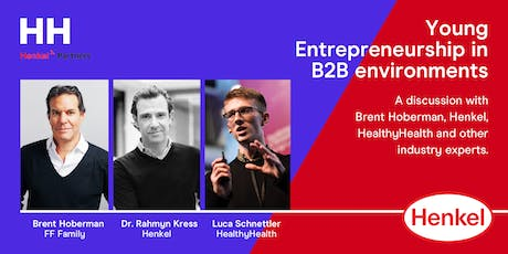 Henkel x HealthyHealth - Entrepreneurship in B2B w. Brent Hoberman  tickets