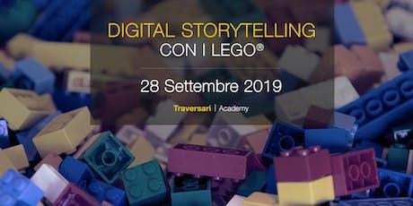 Corso Digital Storytelling con i Lego®. Dalla teoria alla pratica. biglietti