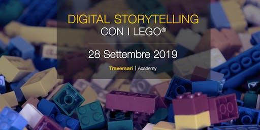 Corso Digital Storytelling con i Lego®. Dalla teoria alla pratica.
