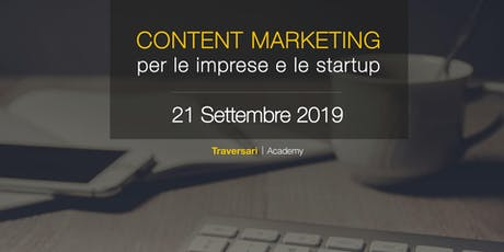 Content Marketing per le imprese e le start-up biglietti