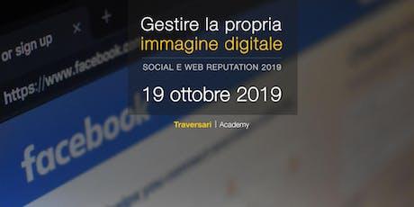 Gestire la propria immagine digitale biglietti
