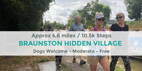 BRAUNSTON AND THE HIDDEN VILLAGE | 4.6 MILES | MODERATE | NORTHANTS WALK tickets