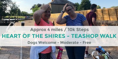 HEART OF THE SHIRES TEASHOP WALK   NR DAVENTRY   NORTHANTS WALK   3.9 MILES   MODERATE