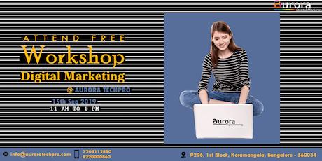 FREE DIGITAL MARKETING WORKSHOP - How to generate money online?  tickets
