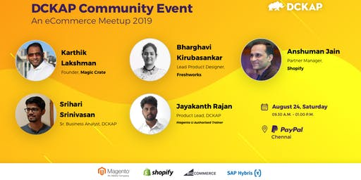 DCKAP Community Event - an eCommerce Meetup