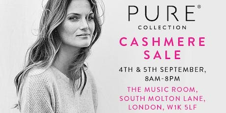 Pure Collection Sample Sale tickets