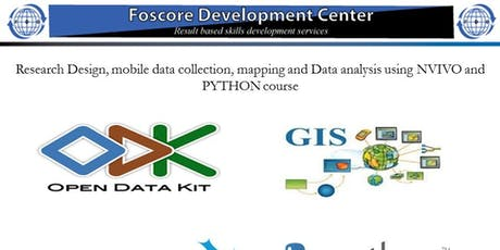Research Design, Mobile Data Collection, Mapping  Data Analysis nvivo,Pytho tickets