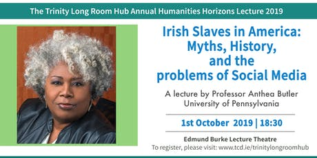 2019 Humanities Horizons : Irish Slaves in America tickets