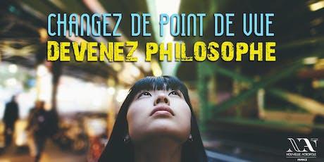 Atelier de philosophie pratique d'Orient et d'Occident billets