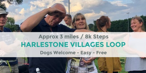 HARLESTONE VILLAGES LOOP | NORTHANTS WALK | 3 MILES | EASY ROUTE