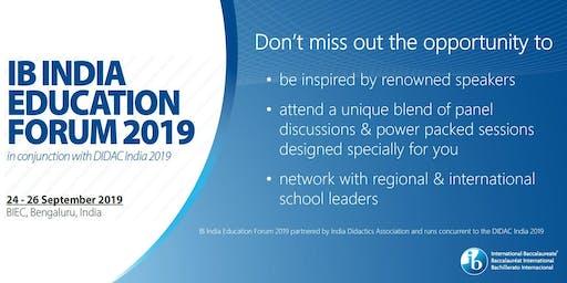 IB India Education Forum 2019
