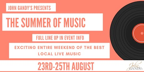 The Summer Of Music tickets