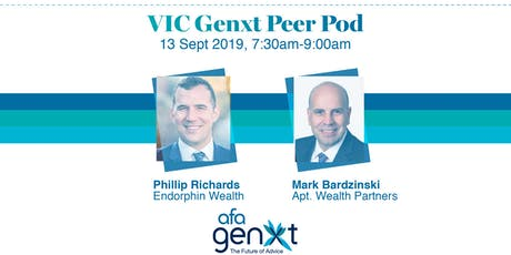 VIC Genxt Adviser Peer Pod - Building a sustainable practice tickets