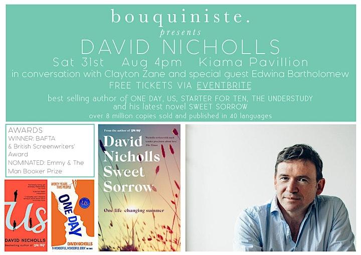 Bouquiniste Presents David Nicholls image