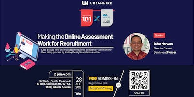 """Urbanhire 101 """"Making the Online Assessment Work for Recruitment"""""""