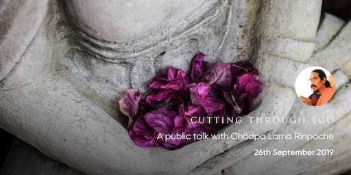 Public Talk in Malvern with Chodpa Lama Rinpoche